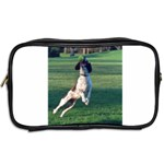 English Springer Catching Ball Toiletries Bags 2-Side Back
