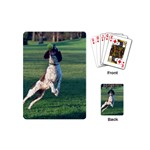 English Springer Catching Ball Playing Cards (Mini)  Back