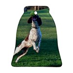 English Springer Catching Ball Ornament (Bell)  Front