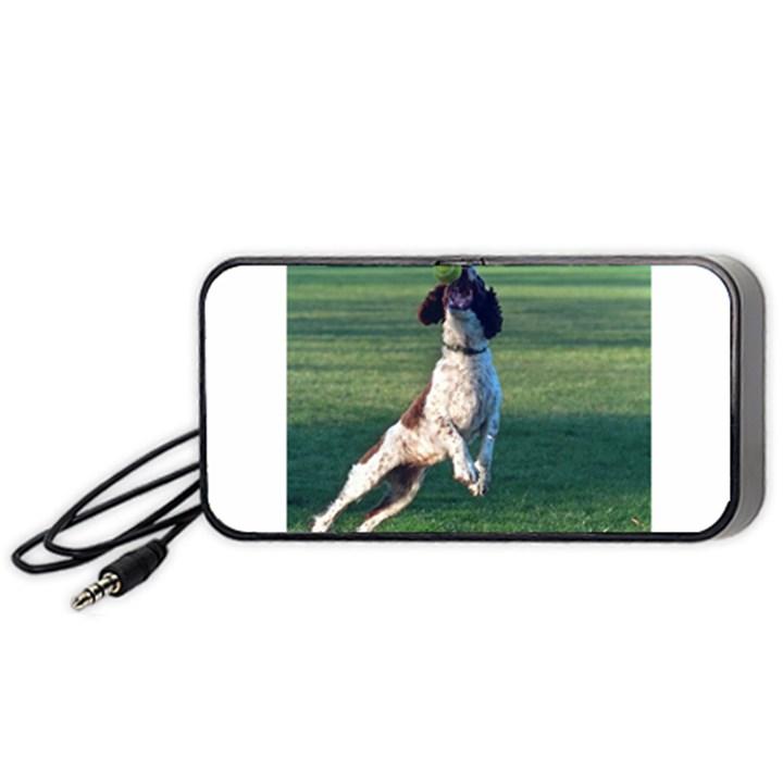 English Springer Catching Ball Portable Speaker (Black)