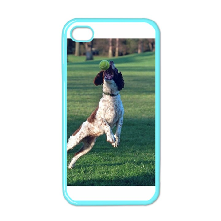 English Springer Catching Ball Apple iPhone 4 Case (Color)