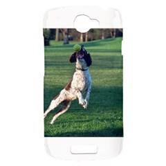 English Springer Catching Ball HTC One S Hardshell Case