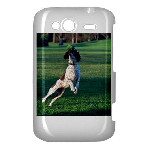 English Springer Catching Ball HTC Wildfire S A510e Hardshell Case