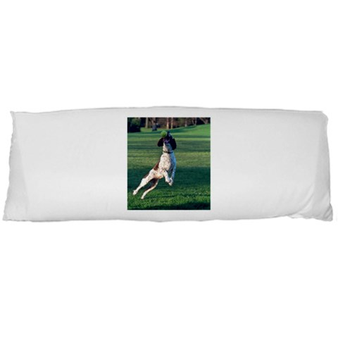English Springer Catching Ball Body Pillow Case (Dakimakura)