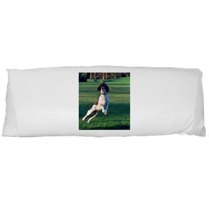 English Springer Catching Ball Body Pillow Case Dakimakura (Two Sides)