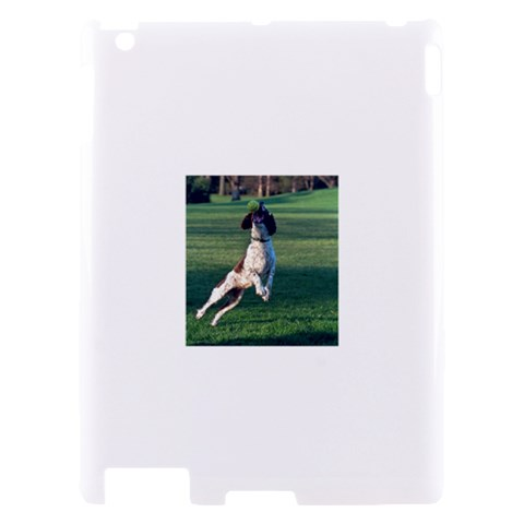 English Springer Catching Ball Apple iPad 2 Hardshell Case