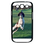 English Springer Catching Ball Samsung Galaxy S III Case (Black) Front