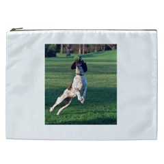English Springer Catching Ball Cosmetic Bag (XXL)