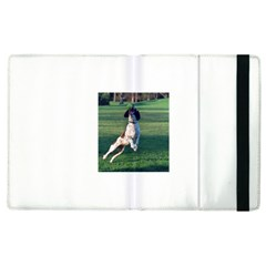 English Springer Catching Ball Apple iPad 3/4 Flip Case