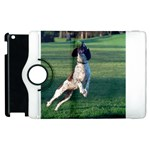 English Springer Catching Ball Apple iPad 2 Flip 360 Case Front