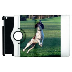 English Springer Catching Ball Apple iPad 3/4 Flip 360 Case