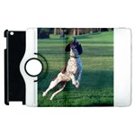 English Springer Catching Ball Apple iPad 3/4 Flip 360 Case Front