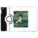 English Springer Catching Ball Apple iPad Mini Flip 360 Case Front