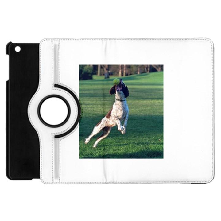 English Springer Catching Ball Apple iPad Mini Flip 360 Case