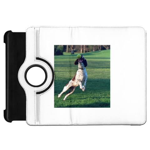 English Springer Catching Ball Kindle Fire HD Flip 360 Case