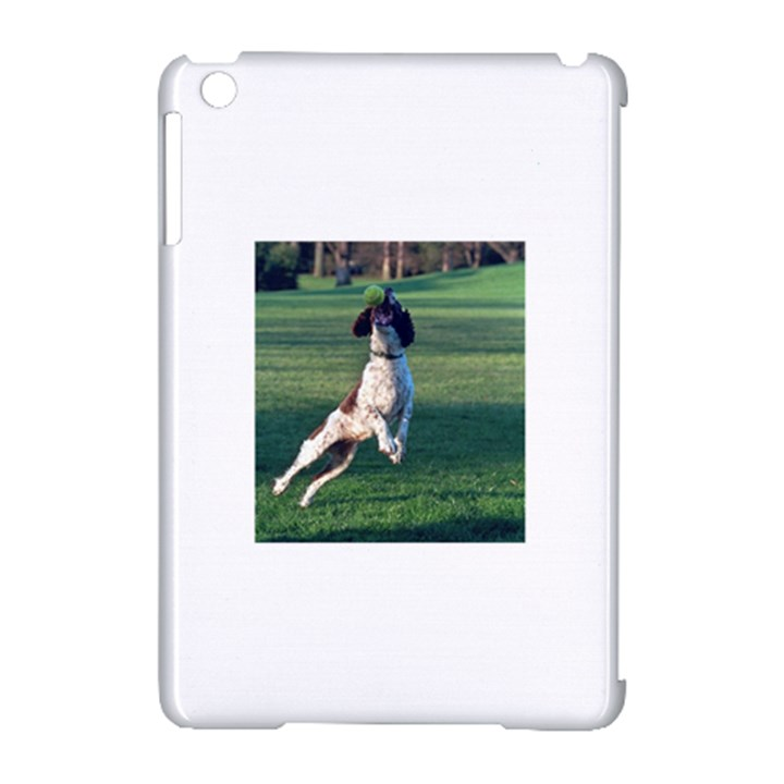 English Springer Catching Ball Apple iPad Mini Hardshell Case (Compatible with Smart Cover)
