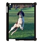 English Springer Catching Ball Apple iPad 3/4 Case (Black) Front