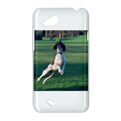 English Springer Catching Ball HTC Desire VC (T328D) Hardshell Case