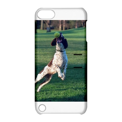English Springer Catching Ball Apple iPod Touch 5 Hardshell Case with Stand