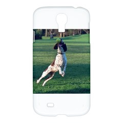 English Springer Catching Ball Samsung Galaxy S4 I9500/I9505 Hardshell Case