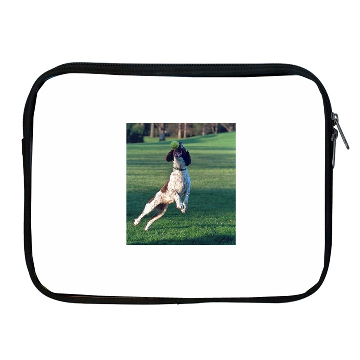 English Springer Catching Ball Apple iPad 2/3/4 Zipper Cases