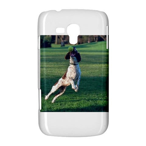 English Springer Catching Ball Samsung Galaxy Duos I8262 Hardshell Case