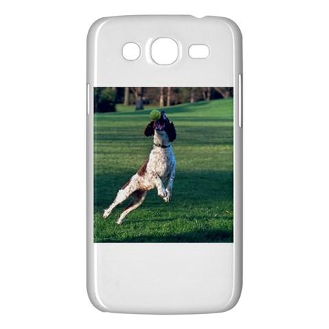 English Springer Catching Ball Samsung Galaxy Mega 5.8 I9152 Hardshell Case