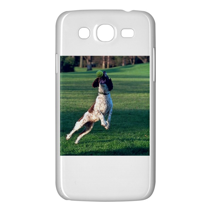 English Springer Catching Ball Samsung Galaxy Mega 5.8 I9152 Hardshell Case