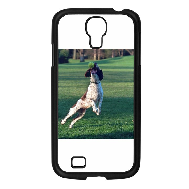 English Springer Catching Ball Samsung Galaxy S4 I9500/ I9505 Case (Black)