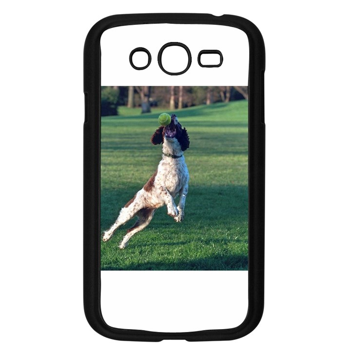 English Springer Catching Ball Samsung Galaxy Grand DUOS I9082 Case (Black)