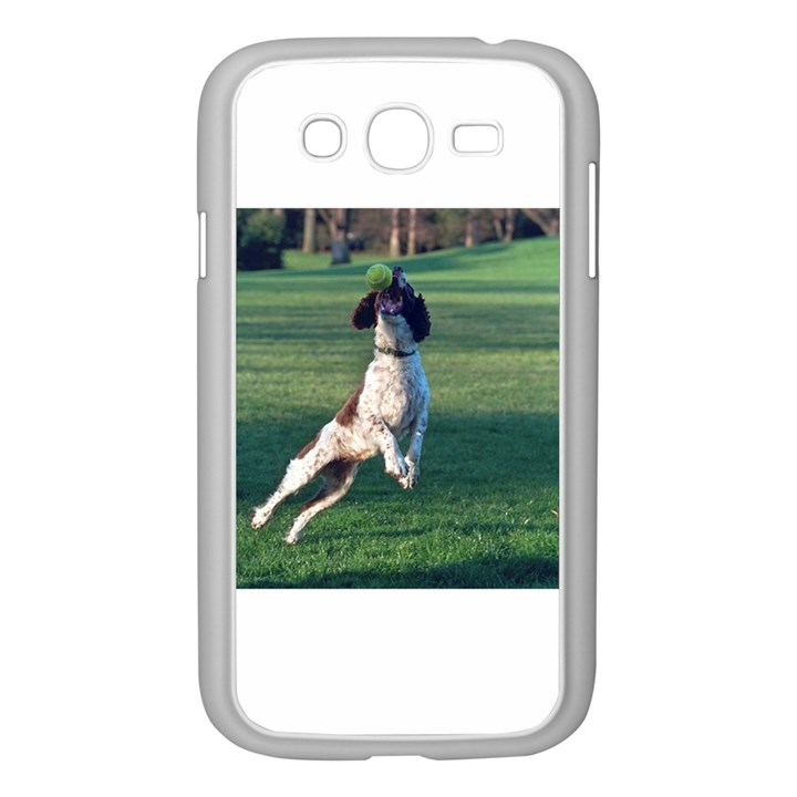 English Springer Catching Ball Samsung Galaxy Grand DUOS I9082 Case (White)
