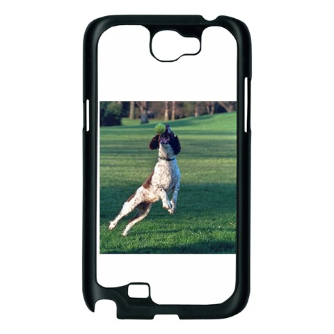 English Springer Catching Ball Samsung Galaxy Note 2 Case (Black)