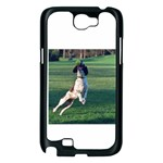 English Springer Catching Ball Samsung Galaxy Note 2 Case (Black) Front