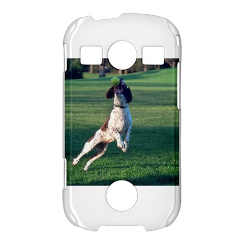 English Springer Catching Ball Samsung Galaxy S7710 Xcover 2 Hardshell Case