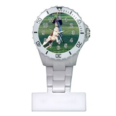 English Springer Catching Ball Plastic Nurses Watch