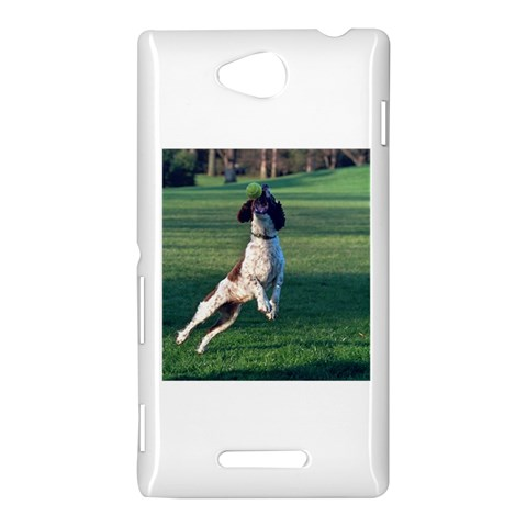 English Springer Catching Ball Sony Xperia C (S39H)
