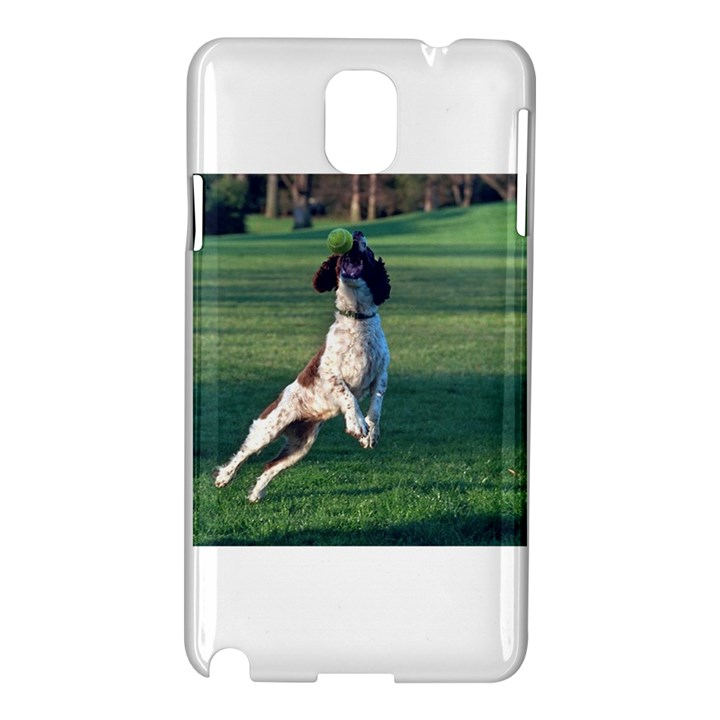 English Springer Catching Ball Samsung Galaxy Note 3 N9005 Hardshell Case