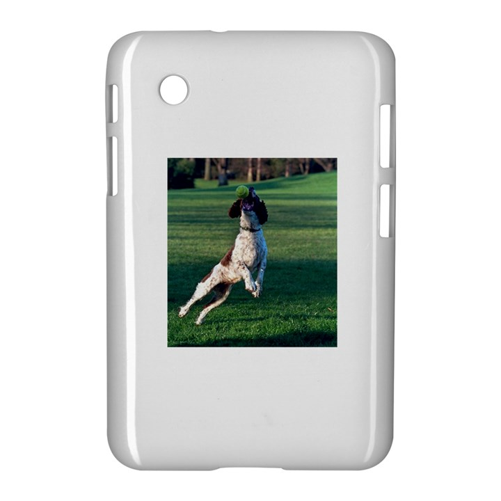 English Springer Catching Ball Samsung Galaxy Tab 2 (7 ) P3100 Hardshell Case