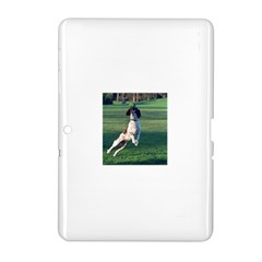 English Springer Catching Ball Samsung Galaxy Tab 2 (10.1 ) P5100 Hardshell Case