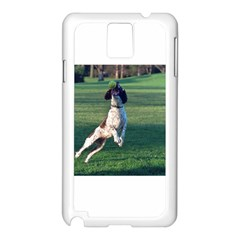 English Springer Catching Ball Samsung Galaxy Note 3 N9005 Case (White)