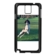 English Springer Catching Ball Samsung Galaxy Note 3 N9005 Case (Black)