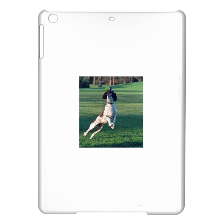 English Springer Catching Ball iPad Air Hardshell Cases