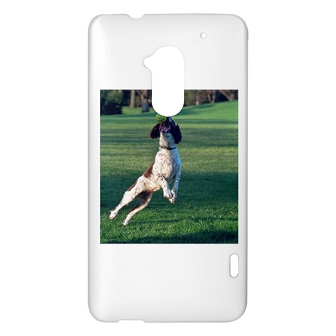 English Springer Catching Ball HTC One Max (T6) Hardshell Case