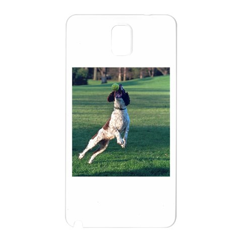 English Springer Catching Ball Samsung Galaxy Note 3 N9005 Hardshell Back Case