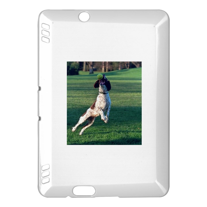 English Springer Catching Ball Kindle Fire HDX Hardshell Case