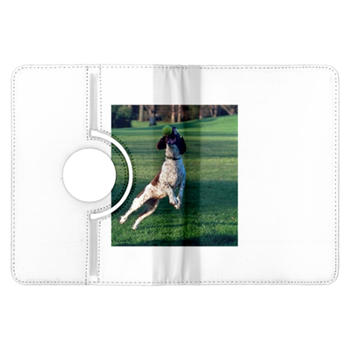 English Springer Catching Ball Kindle Fire HDX Flip 360 Case