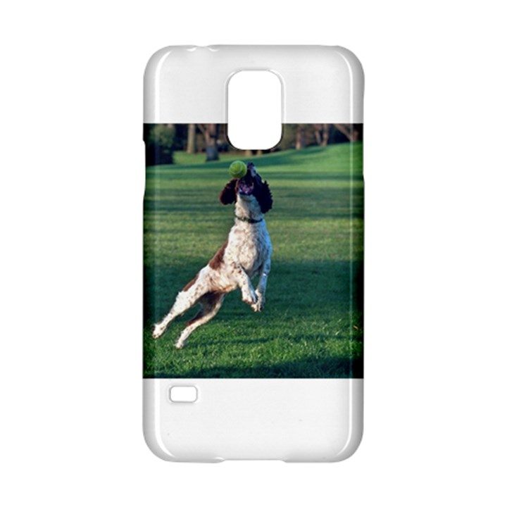 English Springer Catching Ball Samsung Galaxy S5 Hardshell Case