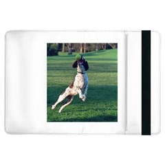 English Springer Catching Ball iPad Air Flip