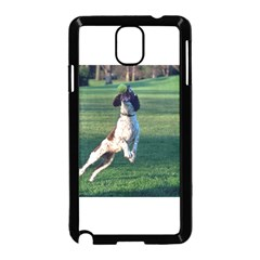 English Springer Catching Ball Samsung Galaxy Note 3 Neo Hardshell Case (Black)