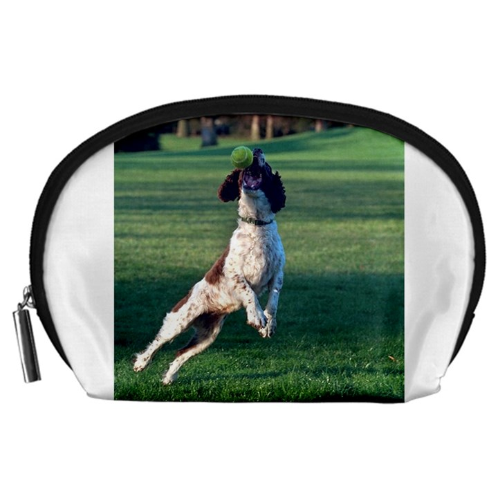 English Springer Catching Ball Accessory Pouches (Large)